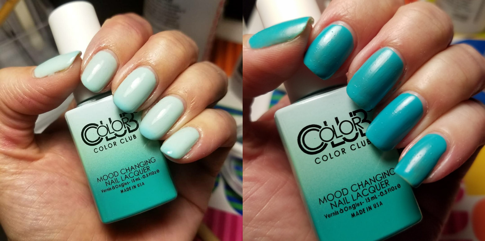 Colorclub Mood Changing Polishes Smart Girl Dumb Show