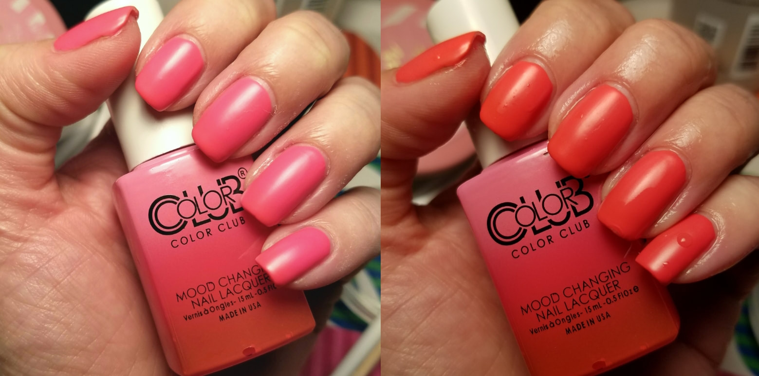 Mood Changing Nail Polish Color Club Hession Hairdressing
